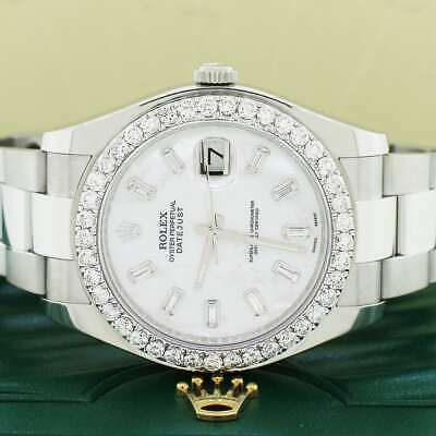 $ CDN14616.18 • Buy Rolex Datejust II 41mm Automatic Mens Oyster Watch 116300 W/diamond Box & Papers