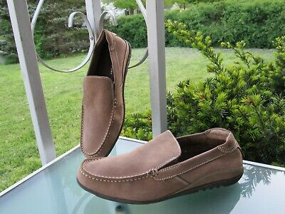 ROCKPORT Brown Leather Loafers Walk Comfort Shoes, Mens Size 8 • 13.38£