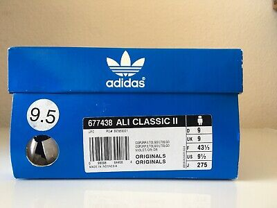 $179.99 • Buy Adidas Originals Ali Classic II Size 9.5 RARE AND HARD TO FIND 677438
