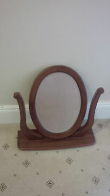 £19.99 • Buy Wooden Dressing Table Mirror & Stand (Walnut)