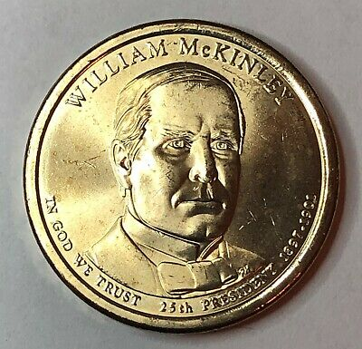 $2.50 • Buy 2013  William McKinley Presidential Dollar Coin Uncirculated