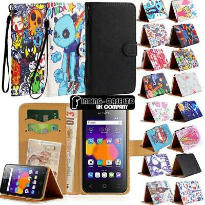 Folio Leather Stand Wallet Cover Case For Alcatel 1/1C /1S /1V /1X /3 /Onyx 2019 • 3.99£