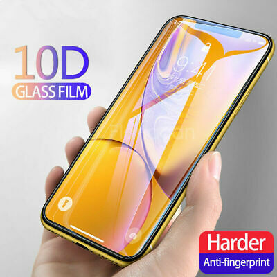 $ CDN3.03 • Buy 10D Curved Full Cover Real Tempered Glass Screen Protector For Smart Cellphones