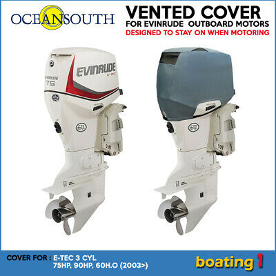 AU119.90 • Buy Evinrude Outboard Motor Engine Vented Cover E-TEC 3 CYL 75HP, 90HP,60H.O (2003>)