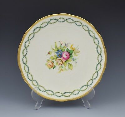 Pretty Antique Edwardian Minton Cabinet Dessert Plate • 40£