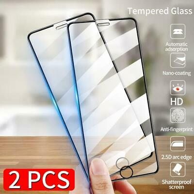 AU4.99 • Buy 2PCS 10D Curved Full Film Tempered Glass Screen Protector For Smart Cellphones
