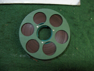 Nagra Sn Stereo Metal Tapes Reel To Reel Single Green Little Used. • 50£