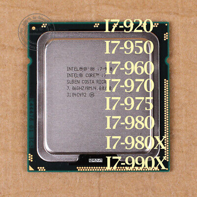 $ CDN147.02 • Buy Intel Core I7-990X I7-980X I7-975 I7-970 I7-960 I7-950 LGA 1366 CPU Processor