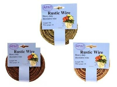 £8.79 • Buy Rustic Grapevine Wire Apac Floral Floristry Crafts Weddings In 3 Colours