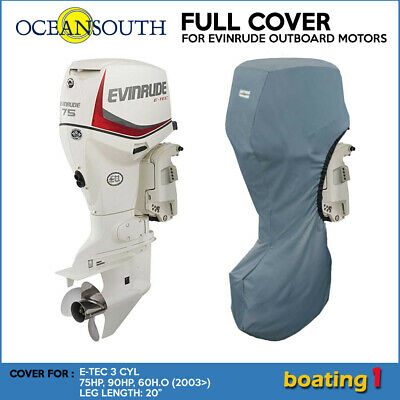 AU75.99 • Buy Outboard Motor Full Cover For Evinrude E-TEC 3 CYL 75-90HP, 60H.O (2003>) - 20