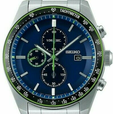 $ CDN381.47 • Buy 2019 New!! SEIKO SELECTION SBPY145 Solar Athleisure Chronograph Men' S Watch