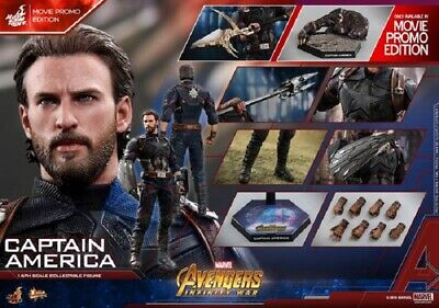 $ CDN575 • Buy Hot Toys 1/6th Captain America Infinity War Avenger Exclusive Edition Figure