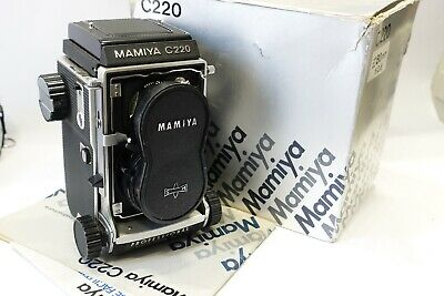 View Details Mamiya C220 Professional Twin Lens Reflex TLR Camera & 80mm Blue Dot Lens, Boxed • 429.99£