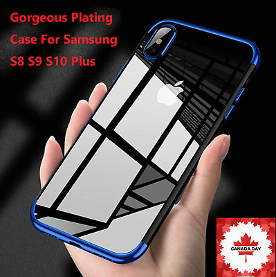 $ CDN4.99 • Buy Case For Samsung S8 S9 S10 Plus ShockProof Soft Phone Cover TPU Silicone New