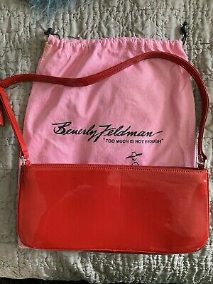 Red Patent Leather Russell & Bromley Small Shoulder Bag With Strap • 65£
