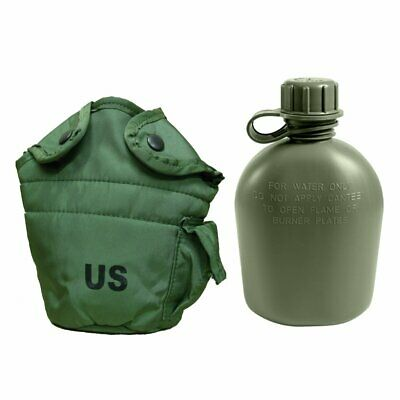 $ CDN16.26 • Buy NEW 1QT Canteen & EUC Cover Pouch LC2 1 Quart OD Green With 2-ALICE Clips SET