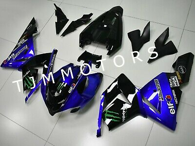 $499.99 • Buy For Ninja ZX-10R 2004 2005 ABS Injection Mold Bodywork Fairing Kit Blue Black