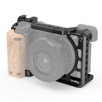 AU79.74 • Buy SmallRig Cage Kit With Wooden Handgrip For Sony A6400 /A6300/A6500 2310+2318
