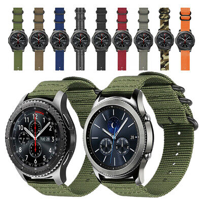 $8.98 • Buy Soft Woven Nylon Watch Band Sport Strap For Samsung Gear S3 Classic / Frontier