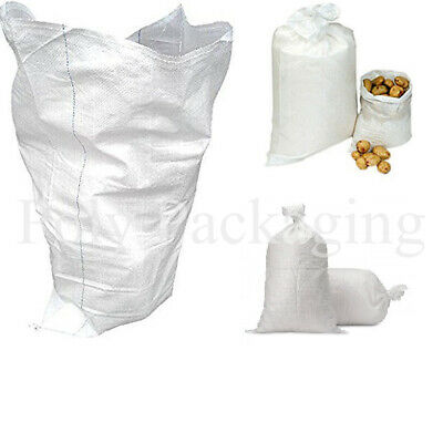 £7.25 • Buy 10 X WOVEN SACKS 22x36 (559x914mm)SUPER STRONG For Builders/Rubble/Soil/Waste