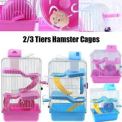 £19.98 • Buy Hamster Cage Large Pet Ting Jasmine Mouse Play House Tubes Gerbil Dwarf Hamster