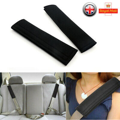 2X Kids Car Seat Belt Pads Harness Safety Shoulder Strap Cushion Cover Protector • 3.26£