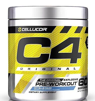 AU49.80 • Buy CELLUCOR C4 60 SERVES PRE WORKOUT + Free Shirt- Free Upgrade To Express Post