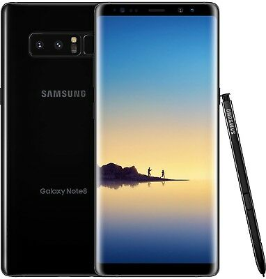 $ CDN408.60 • Buy Samsung Galaxy Note8 SM-N950U - 64GB - Midnight Black (Unlocked) Grade C Shadow