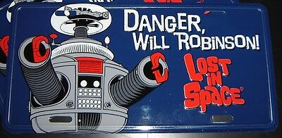 AU19.84 • Buy Lost In Space B9 Robot License Plate Irwin Allen - Danger Will Robinson! NEW B-9