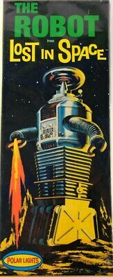 AU38.24 • Buy Lost In Space B9 Robot Model Kit By Polar Lights