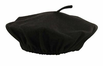 £3.49 • Buy ADULT UNISEX  FANCY DRESS COSTUME ACCESSORY BLACK FRENCH BERET FRANK SPENCER New