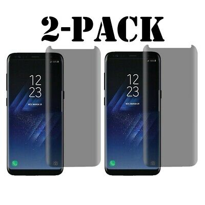 $ CDN6.94 • Buy Privacy Screen Protector Tempered Glass For Samsung Galaxy S8 S9 Plus/Note 9 A++