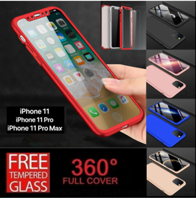 $ CDN8.90 • Buy 360 Hybrid Shockproof Case Cover For IPhone 7 8 X XS XR Samsung S8 S9 S10 Plus