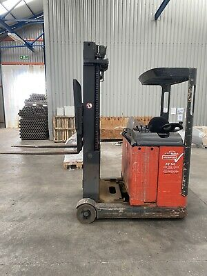 £3550 • Buy Linde R14 Electric Forklift Reach Truck 5.75m Lift Good Battery, Can Deliver