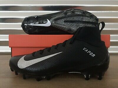 01748578fe5 Nike Vapor Untouchable Pro 3 Football Cleats Black Silver SZ ( 917165-009 )  •