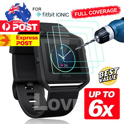AU3.95 • Buy For Fitbit IONIC Versa Explosionproof HD Ultra Film Skin Screen Protector OZ