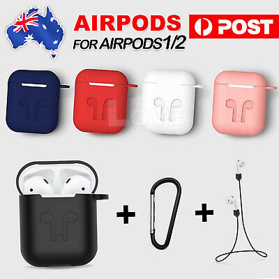 AU5.85 • Buy Strap Holder & Silicone Case Cover Skin For Apple Airpod Accessories Airpods AU