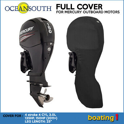 AU105.99 • Buy Mercury Outboard Boat Motor Engine Full Cover 4 CYL 3.0L 135HP, 150HP -25