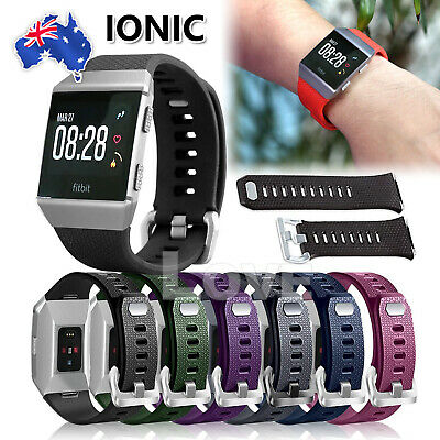 AU6.45 • Buy Replacement Silicone Watch Wrist Sports Band Strap For Fitbit Ionic Wristband
