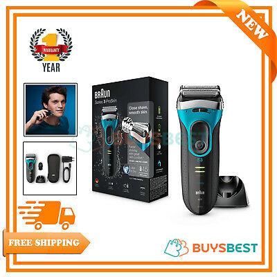 View Details Braun Series 3 Wet And Dry Mens Electric Rechargeable Foil Shaver Razor - 3080s  • 80.99£