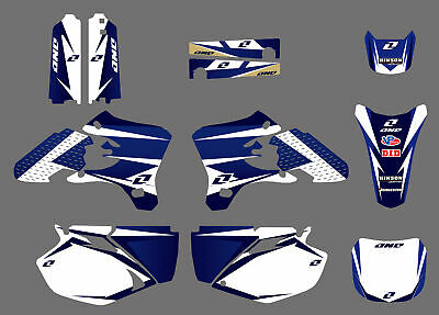 $44.99 • Buy New Decals Stickers Backgrounds Graphics For Yamaha YZF250 YZ250F 2003 2004 2005