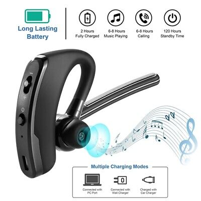 $16.52 • Buy Ear-Hook Wireless Headsets Headphones Earphones Hook Bass Headset For Cell Phone