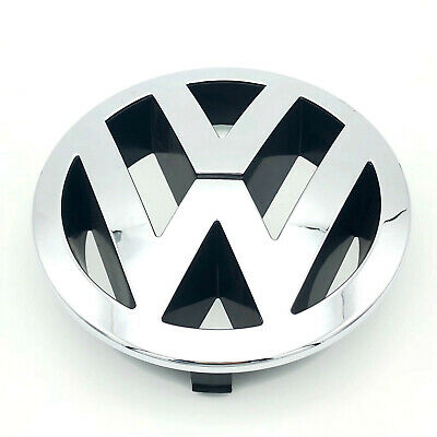 VW TOUAREG FRONT 150mm GRILLE EMBLEM CHROME BADGE 7L6853601A • 9.50£