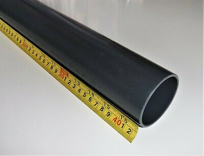 Solvent Weld Dark Grey PRESSURE Pipe X 425 Mm Long,  63 - 90 Mm  And  2  - 3   • 9.99£