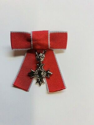£19.99 • Buy Miniature  Mbe & Obe  Bow (ladies) Mounted Civilian And Military Mini Medals,