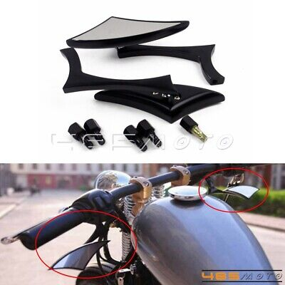 $20.88 • Buy Motorcycle 8mm 10mm Rearview Side Mirrors For Suzuki Boulevard M109R M50 M90 M95
