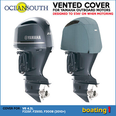 AU181.40 • Buy Yamaha Outboard Motor Engine Vented Cowling Cover V6 4.2L  F225F, F250D, F300B