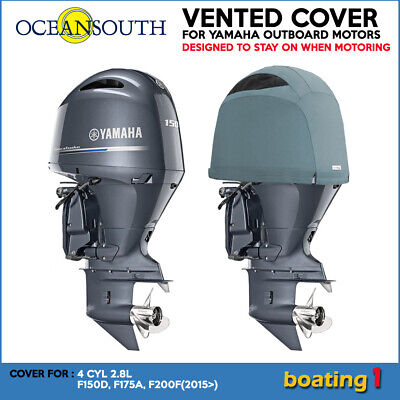 AU171.40 • Buy Yamaha Outboard Motor Engine Vented Cowling Cover 4 CYL 2.8L F150D, F175A, F200F