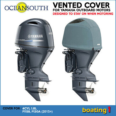 AU136.40 • Buy Yamaha Outboard Motor Engine Vented Cowling Cover 4CYL 1.8L F115B, F130A