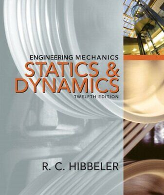 Engineering Mechanics Statics And Dynamics   By Russell C Hibbeler • 29.30£